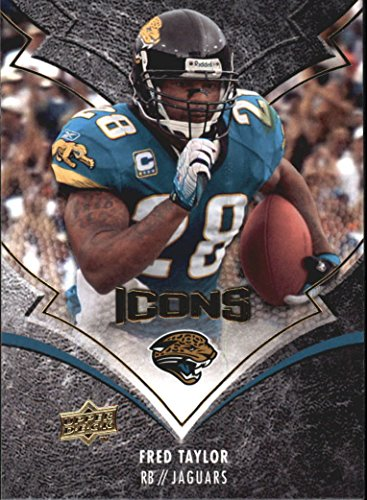 2008 Upper Deck Icons #47 Fred Taylor - Football (Fred Icon)