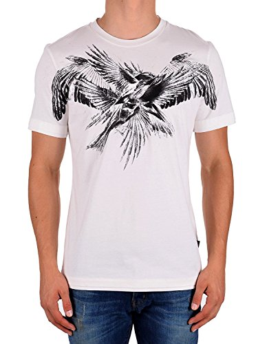 Just Cavalli Birds Print T-Shirt