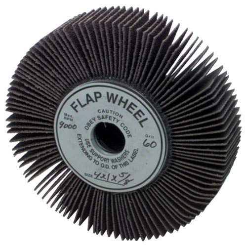 6'' x 1'' x 1''-120 Grit - Unmounted Flap Wheel
