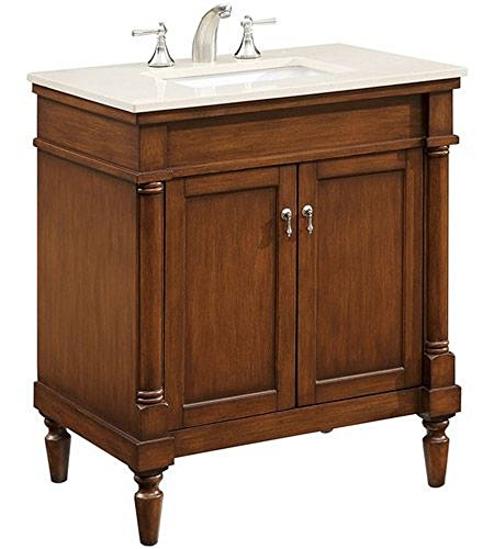 Elegant Decor VF-1030 Single Bathroom Vanity Set, 30