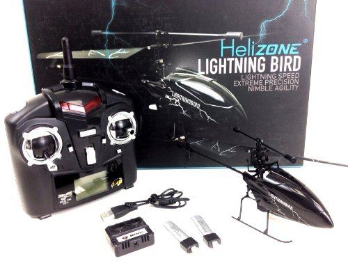 Helizone Lightning Bird WL V911 4 Channel Single Rotor 2.4 Ghz Remote Control Helicopter - Special Edition with upgraded battery]()