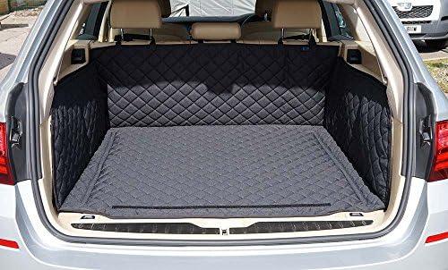 Car Mats Bespoke 5 Series saloon F10 LCI boot mat liner tray protector 2010-2017 Premium custom tailored fit black waterproof