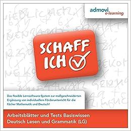 Arbeitsblätter Basiswissen Deutsch - Lesen und Grammatik: Deutsch ...