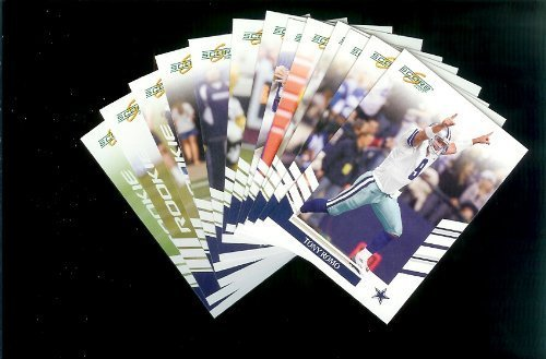 Dallas Cowboys Football Cards - 3 Years of Score Complete Team Sets 2006,2007, & 2008 - Includes Stars like Tony Romo & Terrell Owens, Rookies & More - Individually Packaged!