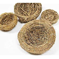 Package of Nature Inspired Miniature Birds Nest for Weddings, Crafts, Parties and More- Package of 12