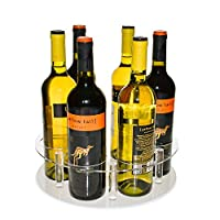 Source One Deluxe Wine Bottle Lazy Susan