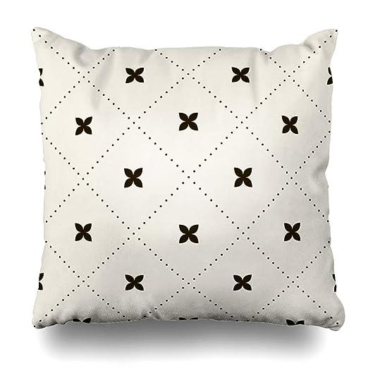 Ahawoso Funda de almohada con diseño de león triangular de ...