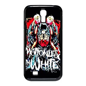 Gators Florida USA Music Band D1 Motionless In White Print Black Case With Hard Shell Cover for SamSung Galaxy S4 I9500