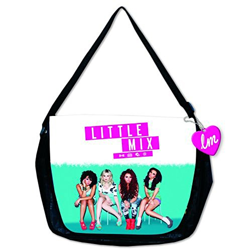 Little Mix , Borsa Messenger  Black/White/Turquoise Taglia unica
