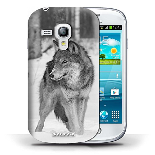 Hülle Case für Samsung Galaxy S3 Mini / Wolf Entwurf / Zoo-Tiere Collection