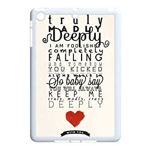 One Direction Classic Personalized Phone Case for Ipad Mini,custom cover case ygtg-333133
