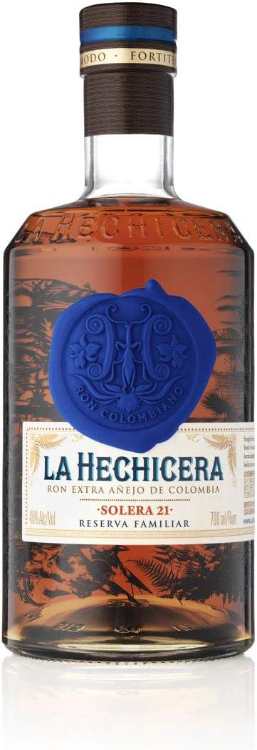 La Hechicera ron fino envejecido, 700 ml
