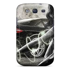 Sanp On Case Cover Protector For Galaxy S3 (passion Of Cars)