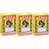 Bell's All Natural Salt Free Poultry / Turkey Seasoning 1 Oz (Pack of 3)