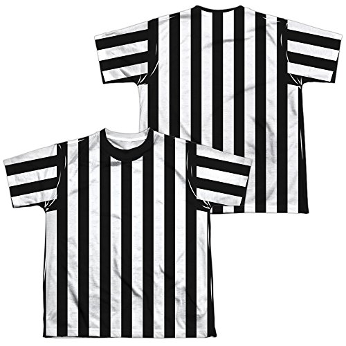 Referee Shirt Youth Or Boy's Sublimated T Shirt