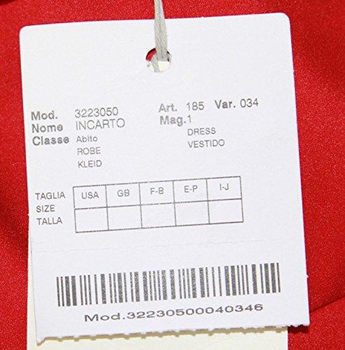 Marina Rinaldi by MaxMara Incarto Red Sleeveless Tiered Dress 14W/23 at Amazon Womens Clothing store: