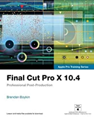 The Apple-Certified Way to Learn  This fully updated Apple-certified guide presents a real-world workflow from raw media to finished project to demonstrate the features of Final Cut Pro X 10.4 and the practical techniques you will use in edi...