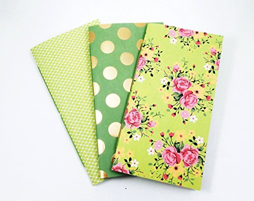 Travelers Notebook Inserts - Set of 3 Journals in Spring - Spring To In Things Do