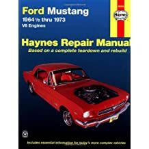 Ford Mustang I, 1964 1/2-1973: V8 Engines