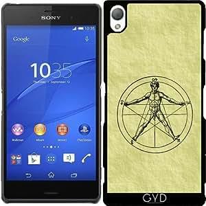 Funda para Sony Xperia Z3 - Hombre De Vitruvio by hera56