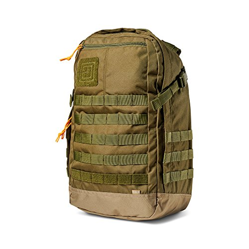 5.11 Rapid Origin Tactical Backpack with Laptop Sleeve, Hydration Pocket, MOLLE, Style 56355, TAC OD