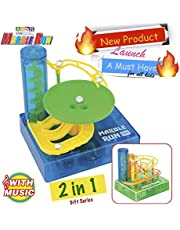 TechMagnet Marble Run STEM Toy set with with Motor and Sound.