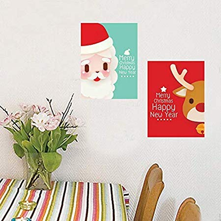 Wall Stickers Window Christmas Snowman Removable Home Vinyl Decal Decor Navidad 2018 - Wall Stickers]()