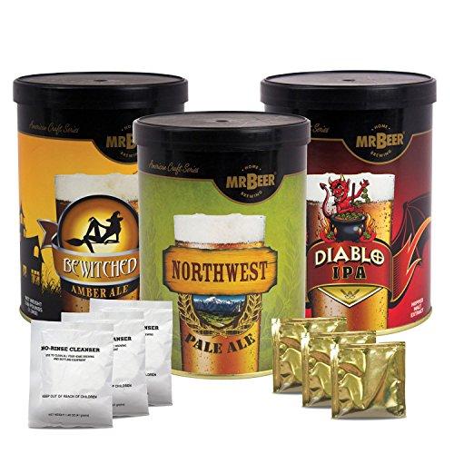 Mr. Beer American Craft Beer Variety Refill (3 pk.) - Pale Refill Ale