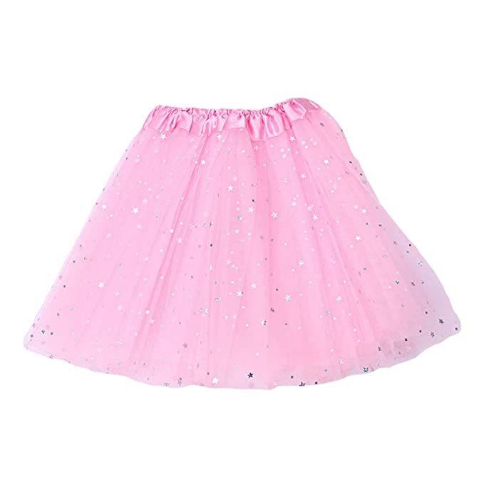 ChYoung Falda de Danza de Ballet para niños bebés Princesa ...
