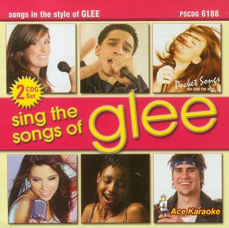 Pocket Songs Karaoke CDG #6188 - Sing the songs of Glee - Pocket Songs Karaoke