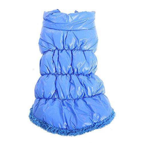 Cotton Dog Jacket - Bonaweite Dogs Down Jacket Warm Pet Winter Thickening Cotton-Padded Clothes Rain-Proof Windcheate Costume