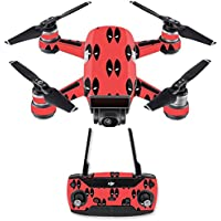 Skin for DJI Spark Mini Drone Combo - Dead Eyes Pool| MightySkins Protective, Durable, and Unique Vinyl Decal wrap cover | Easy To Apply, Remove, and Change Styles | Made in the USA