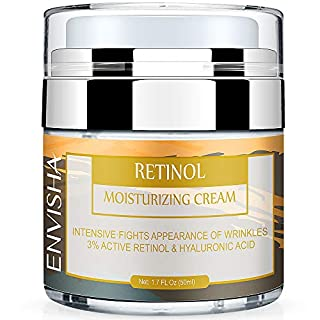 Wumal Retinol Moisturizer Cream for Face - Night Anti Wrinkle Cream for Women & Men - Results in 4 Weeks - Facial Cream with Hyaluronic Acid and 3% Retinol Complex for Anti Aging, Wrinkles & Acne