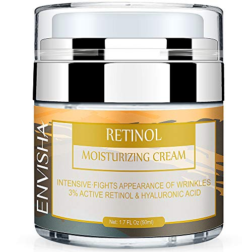 51 CNPF3wEL - Wumal Retinol Moisturizer Cream for Face and Eye Area - Anti Aging Infused with 3% Active Retinol, Hyaluronic Acid & Vitamin E - Reduce Wrinkles, Fine Lines, Fades Sun Spot