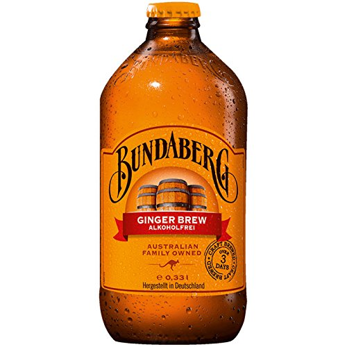 Bundaberg Ginger Beer (4x375ml) Alcoholic Ginger Beer