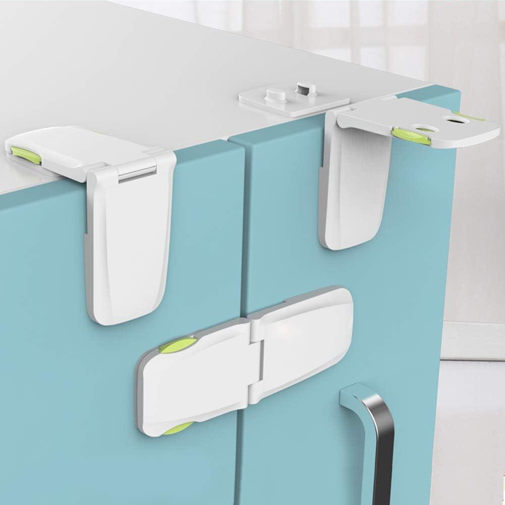 Kitchen-dream Cerraduras de seguridad para niños, cerradura de la ...