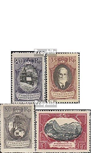 Liechtenstein 53-60 (Complete.Issue.) 1921 Prince Liechtenstein. (Stamps for Collectors) ()