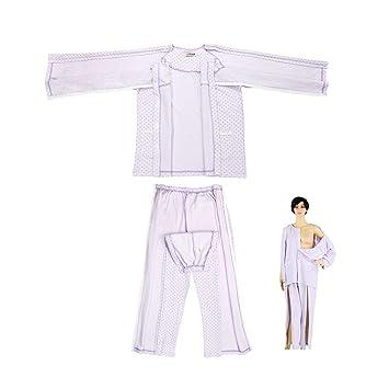 Traje de ropa para el cuidado del paciente, ropa de dormir de ...