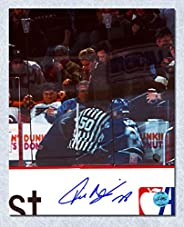 Tie Domi Toronto Maple Leafs Autographed Penalty Box 8x10 Photo