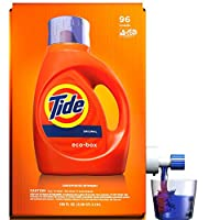 Deals on Tide Laundry Detergent Liquid Eco-Box 105 oz 96 Loads