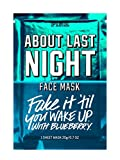 Facial Massage Victoria - VICTORIA SECRET - ABOUT LAST NIGHT FACE MASK WITH BLUEBERRY - REFRESHES SOFTENS & SOOTHS SKIN