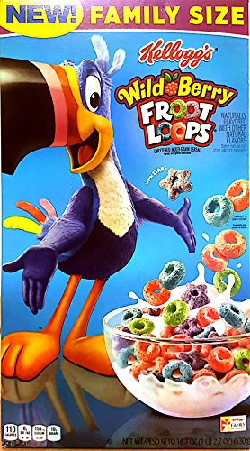 Wild Berry Froot Loops (Berry Wild Cereal)