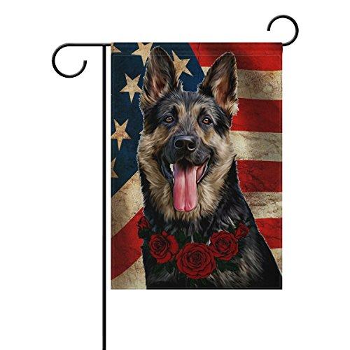 German Shepherd Garden Flag - 8