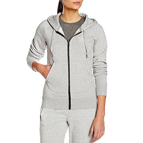 adidas Originals Womens Full Zip Hoodie - S (Zip Italian Hoodie)