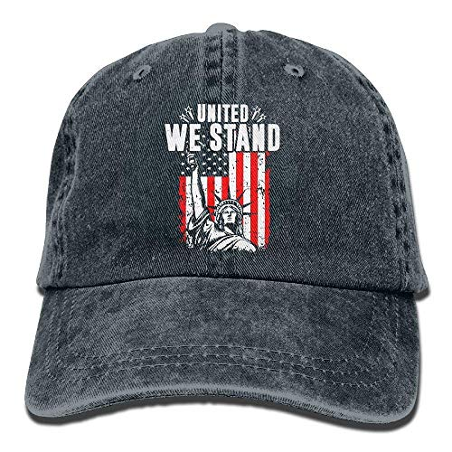 United We Stand Liberty Dad Hat Adjustable Denim Hat Classic Baseball Cap -