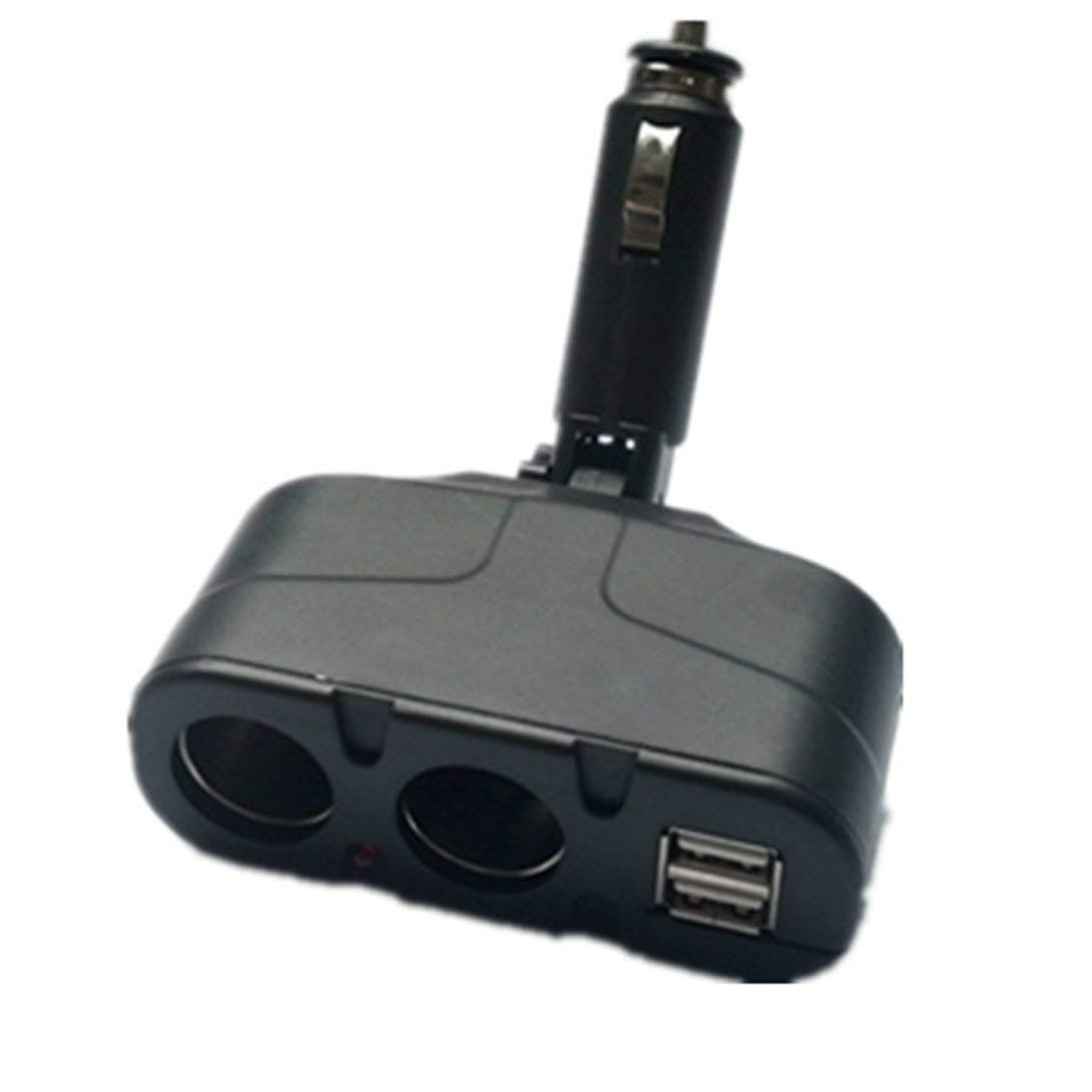 Swiftswan USB-Auto-Ladegerä t Dual DC12V / 24V Elektronische Multi-Funktionen Auto Socket Zigarettenanzü nder Ladegerä t