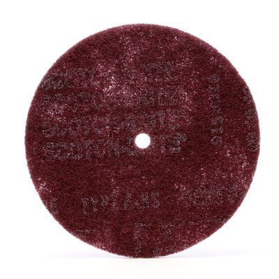 Scotch-Brite(TM) High Strength Disc, 8 in x 1/2 in A VFN, 50 per case