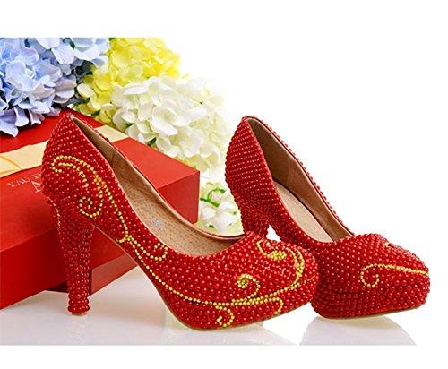 Eu Minitoo Rosso Donna Con red Heel 35 Plateau 10cm Awt8qzAxr