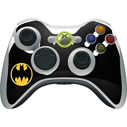 DC Comics Batman Xbox 360 Wireless Controller Skin - Batman Logo Vinyl Decal Skin For Your Xbox 360 Wireless Controller ()