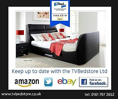 TV Bed Store Ltd Embleton Kingsize Cama de televisión por ...